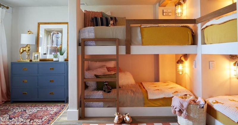 Childrens room decor wood