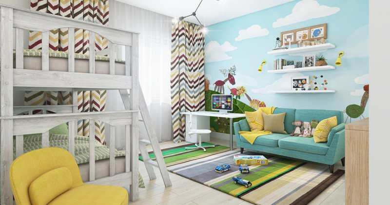 Children's room wall pictures
