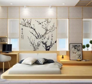 Classic Japanese Small Bedroom