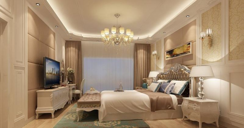 Classic bedroom ceiling design