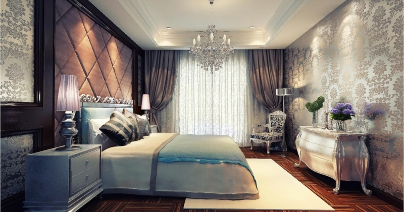 Classic design for bedroom