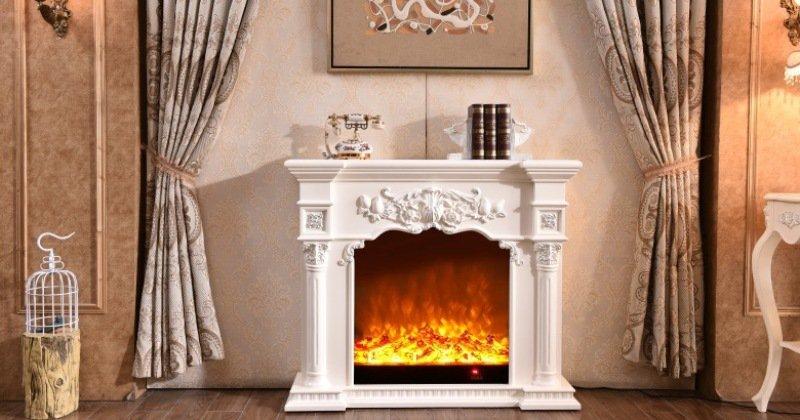 Classic fireplace mantel