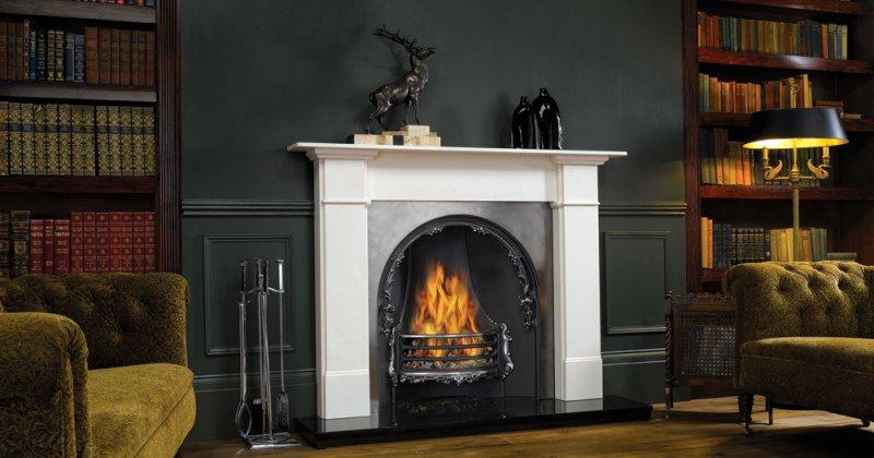 Classic fireplace mantels