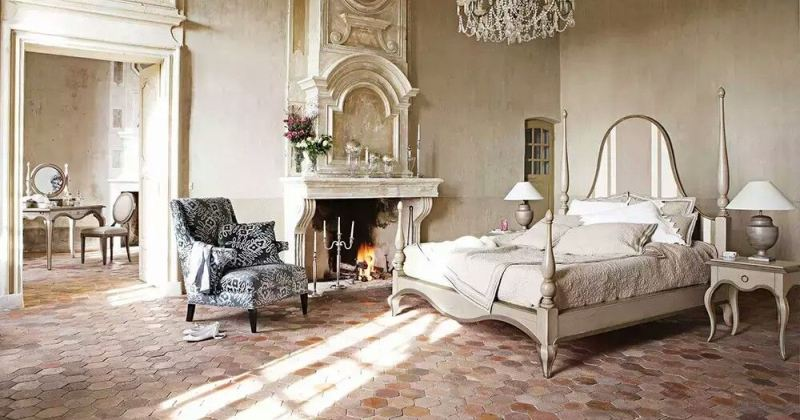 Classic french bedroom design