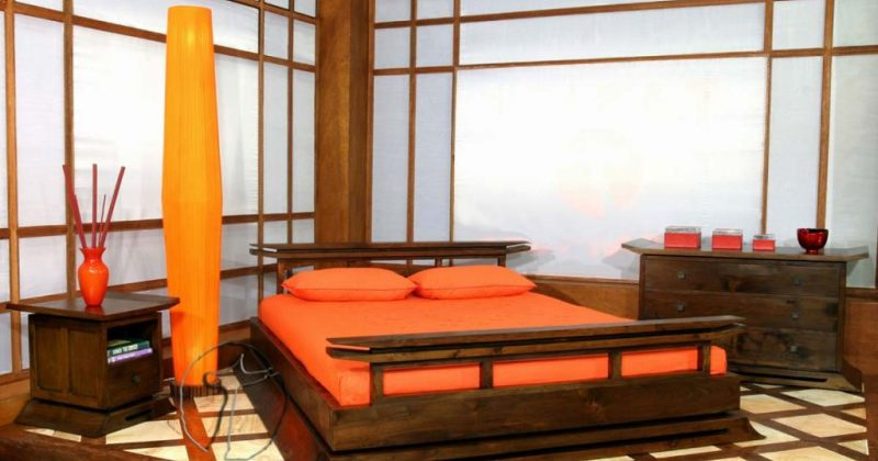 Classic japanese bedroom