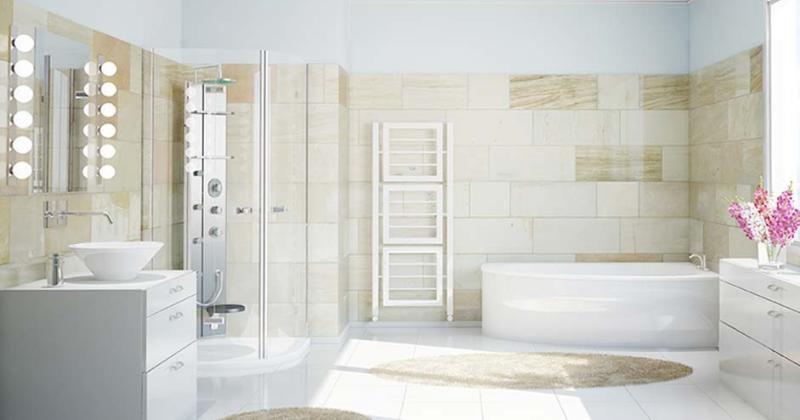 Clean bathroom Simple design
