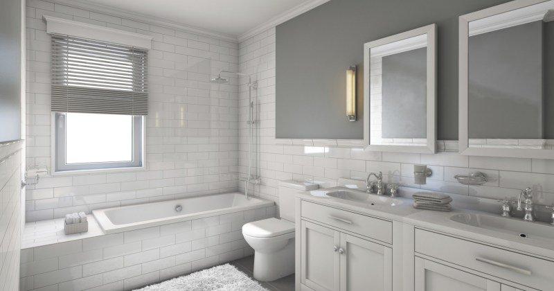 Clean bathroom designs