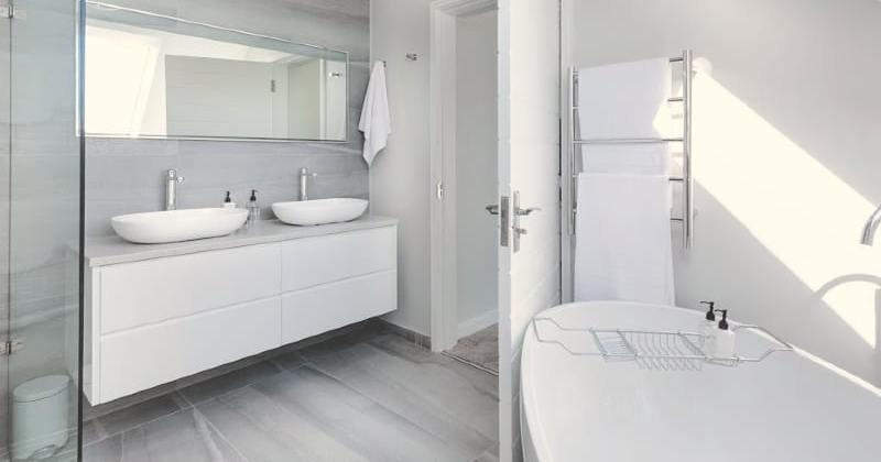 Cleans bathroom design ideas