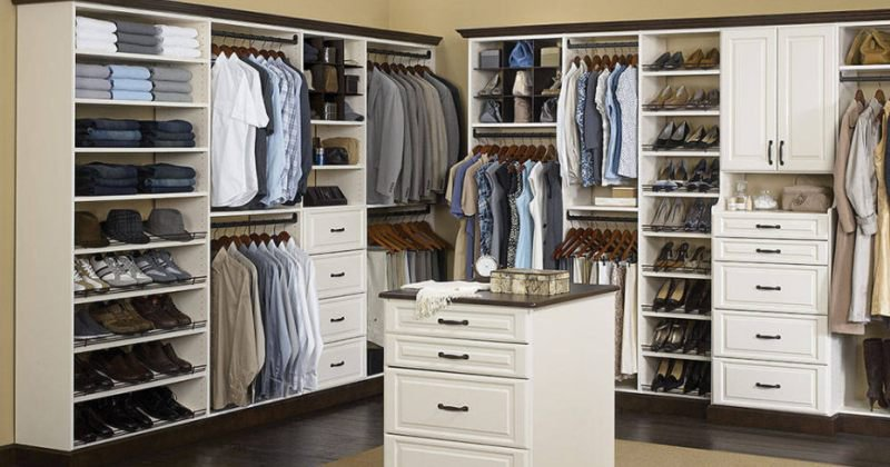 Closet drawers design ideas