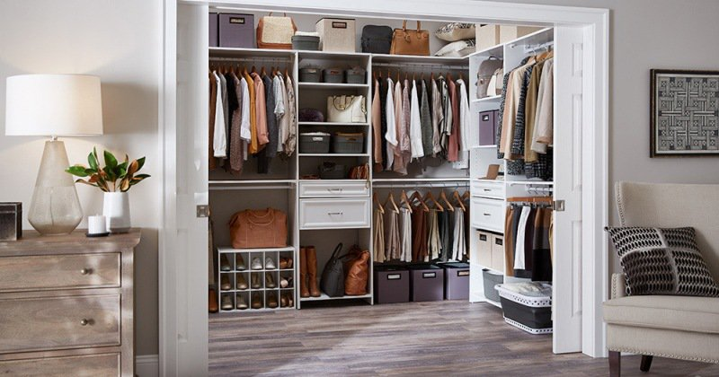 Closet drawers ideas