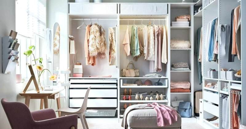 Closet drawers system