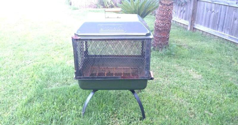 Coleman portable outdoor fireplace grill