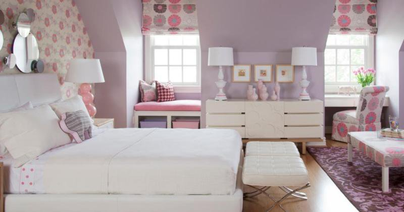 Color ideas for teenage girl room