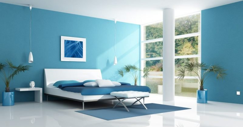 Color of rooms affect mood