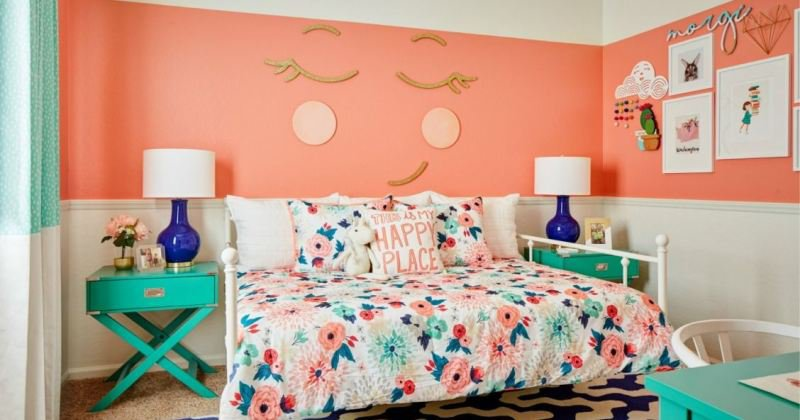 Colors for little girl room