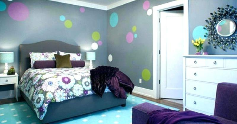Colors for teenage girl room