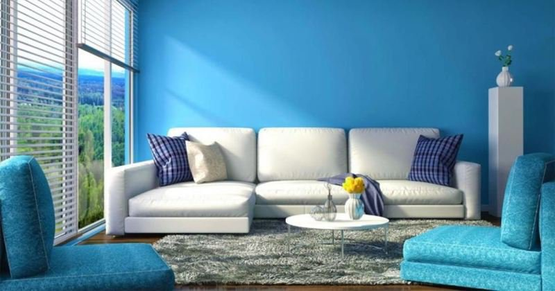 Colors in rooms and mood