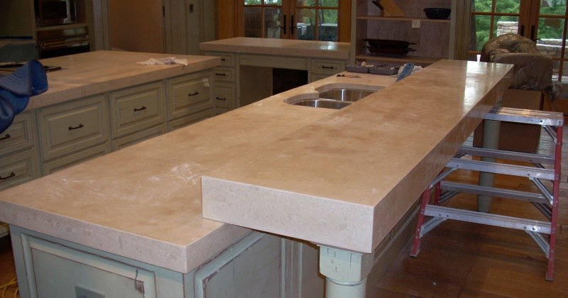 Concrete countertops vs granite
