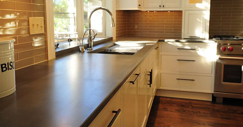 Concrete kitchen countertops cost