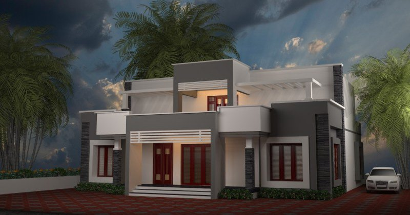 Contemporary house designs in kerala