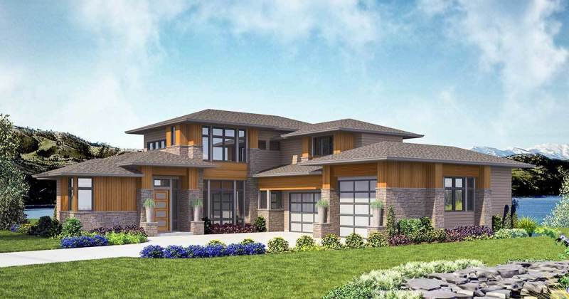Contemporary house plans free