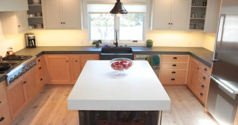 Cost of concrete kitchen countertops