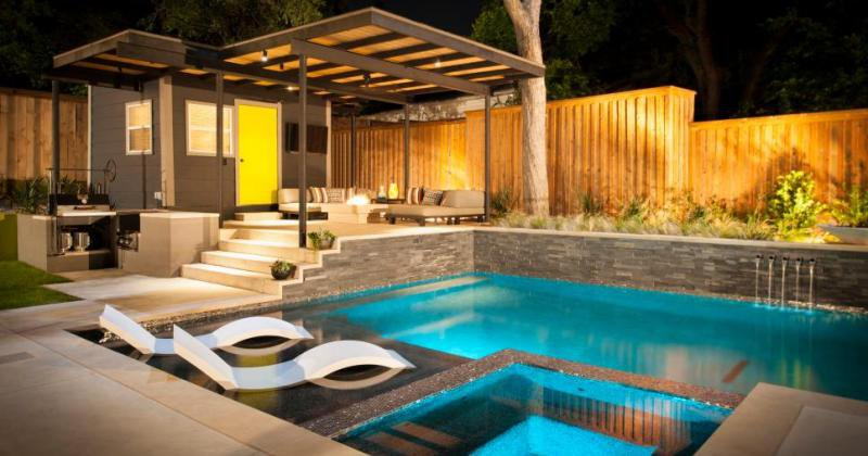 Design for pool house