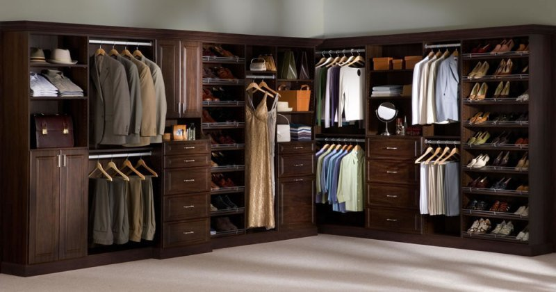 Drawers for closet system