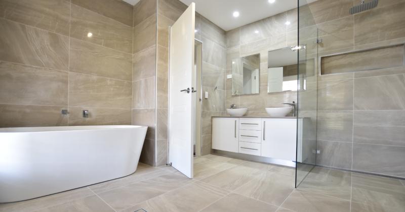 Easy to clean bathroom design ideas