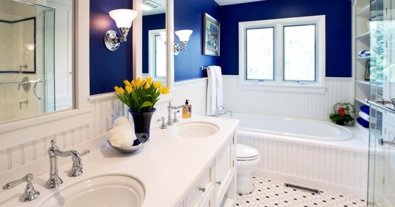 Elegant small bathroom designs