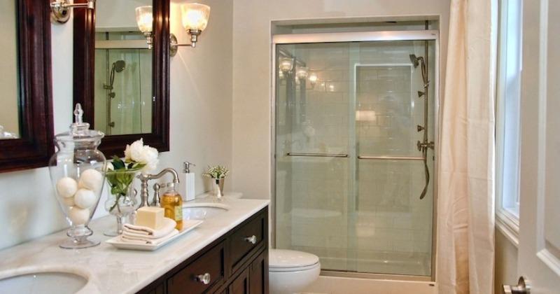 Elegant small bathroom vanities