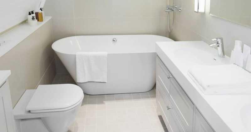 Elegant small master bathrooms