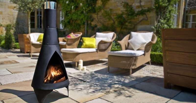 Esschert design ff109 small terrace heater