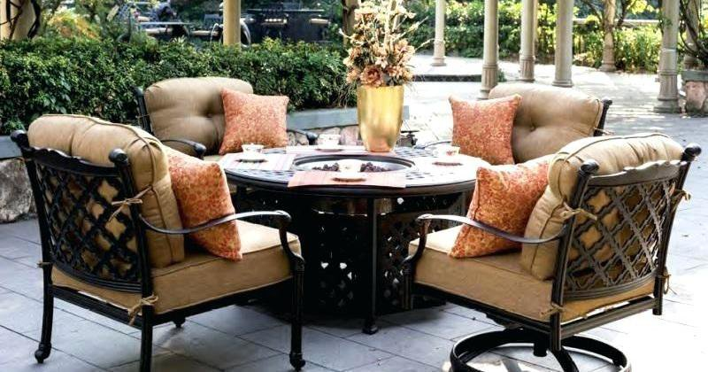 Fire pit table and chairs uk