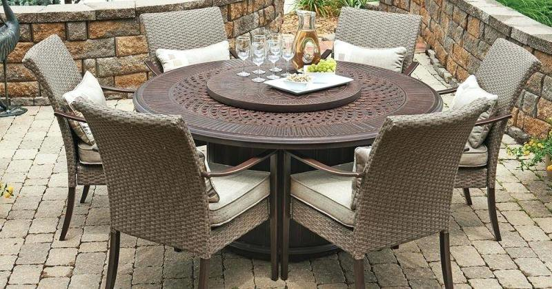 Fire pit table with chairs walmart