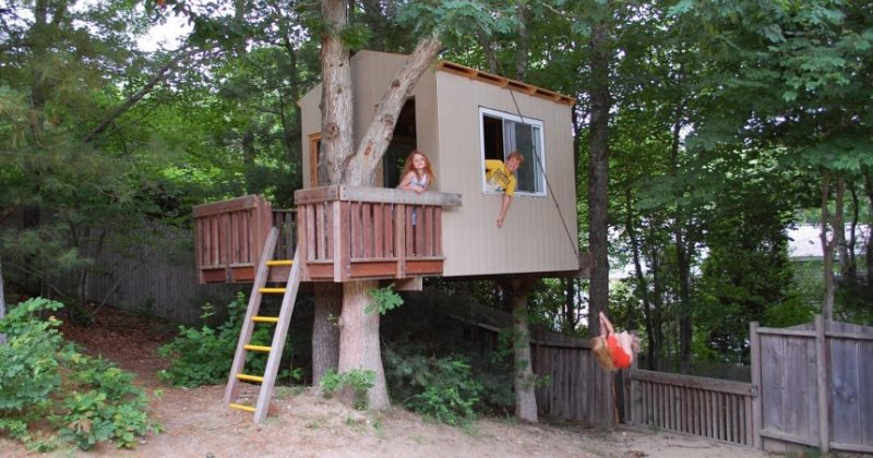 Free children's tree house plans