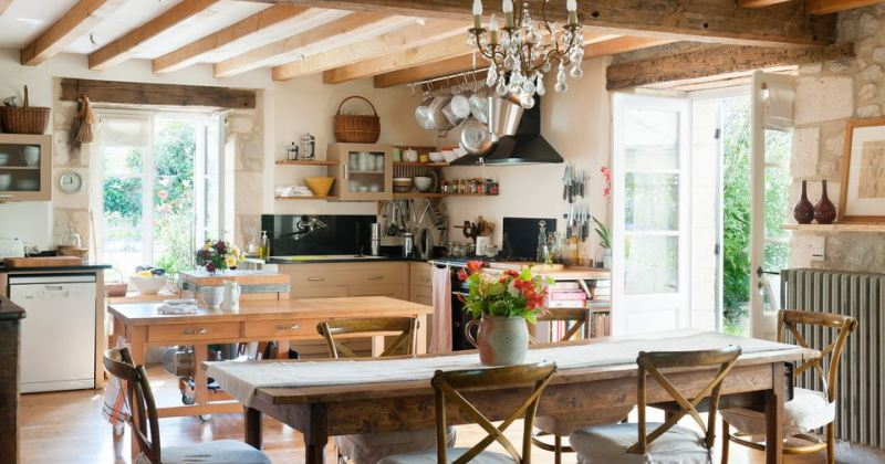 French country kitchen designs photo gallery