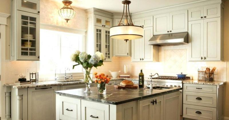 French country kitchen pendant lights