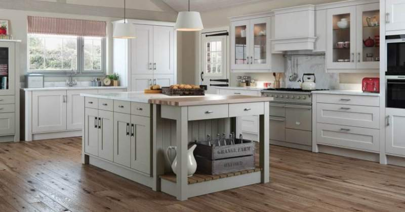 French country kitchen pictures