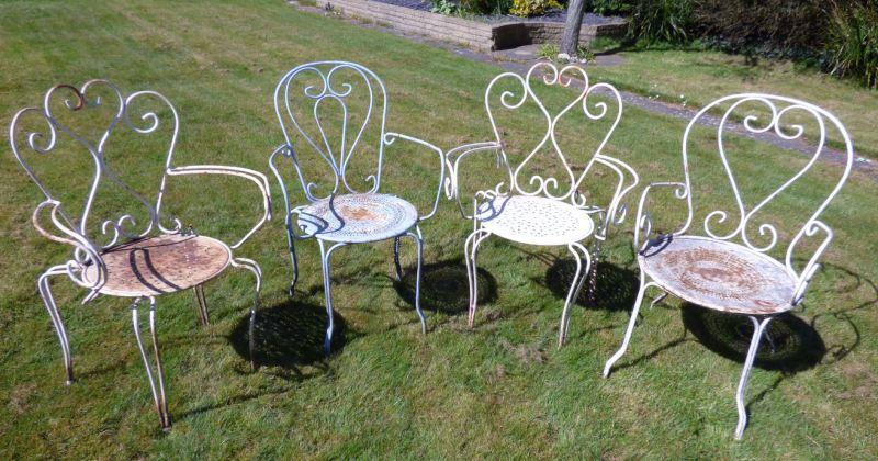 French garden furniture antique