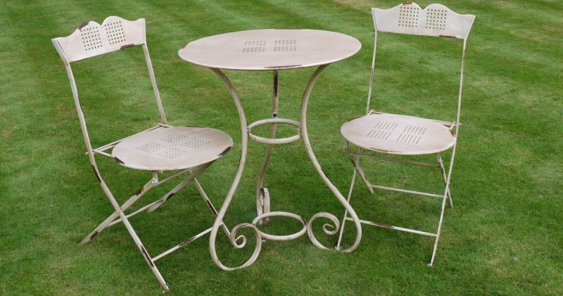 French garden furniture in france