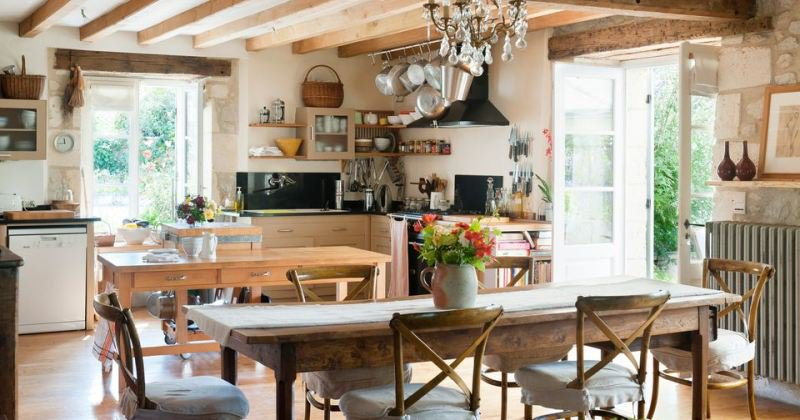 French provincial kitchen accessories