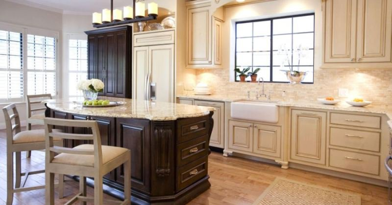 French provincial kitchen furniture