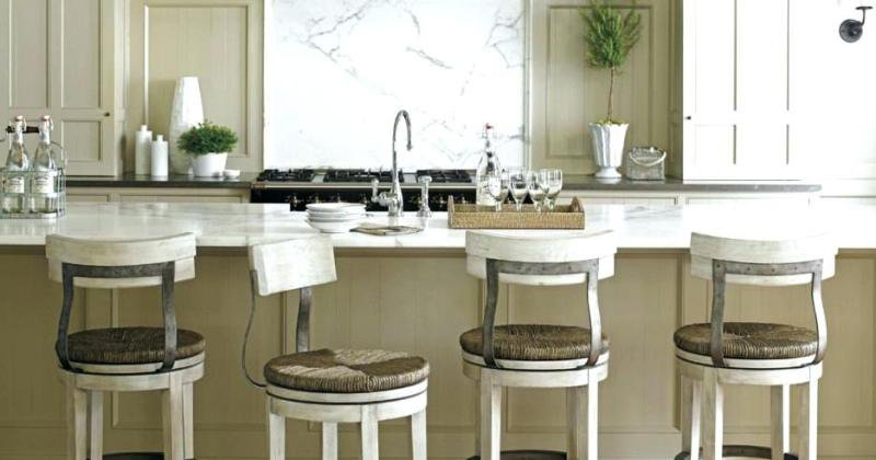French provincial kitchen stools