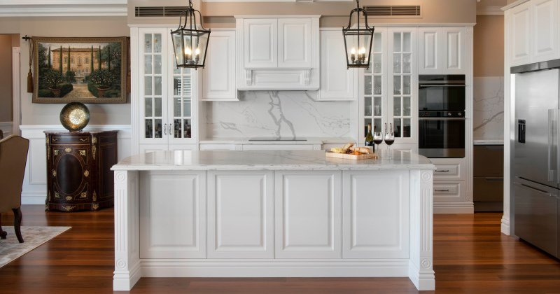French provincial kitchen table