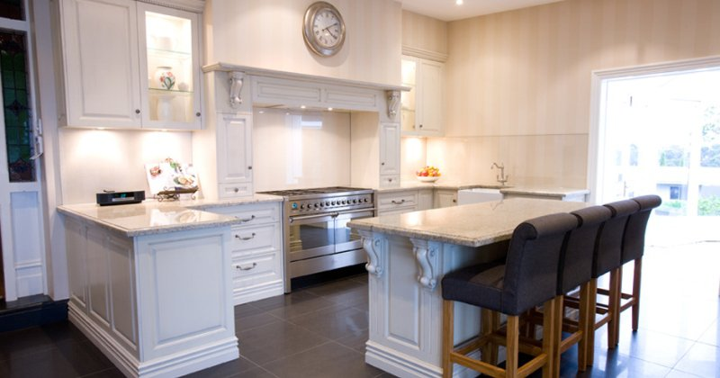 French provincial modern style kitchen