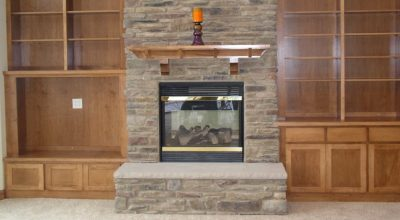 Gas Fireplaces With Stone Surround