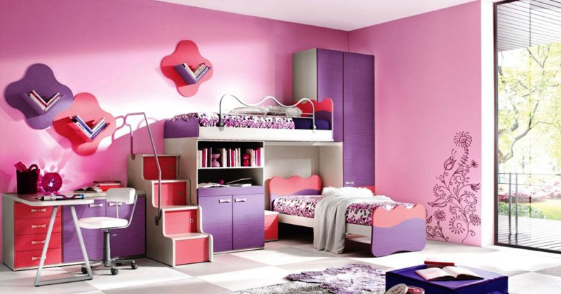 Girl colors for rooms