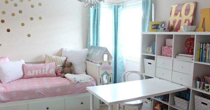 Girl room color palette
