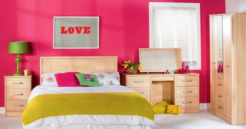 Girl room wall color